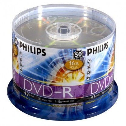 DVD-R PHILIPS 50PK